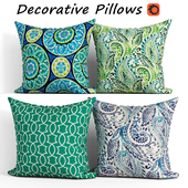 Decorative Pillow set 284 Etsy Two OUTDOOR
