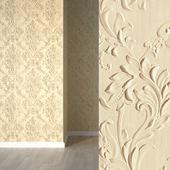 Volume wallpaper lincrusta 34