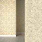Volume wallpaper lincrusta 37