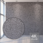 A rock. Small gravel 749