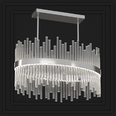 BELLA FIGURA BOND STREET OVAL CHANDELIER CL122-OVAL