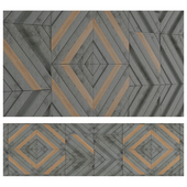 Chevron Wall Panel