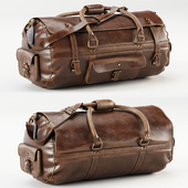 Roosevelt Buffalo Leather Travel Duffle Bag