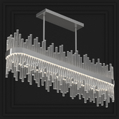 BELLA FIGURA BOND STREET RECTANGULAR CHANDELIER CL122-RECT-150 MAYFAIR