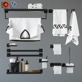 аксессуары для ванной Feramolli Black Line Edition