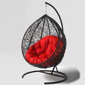 Swing cocoon hanging rotan chair arriba