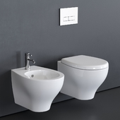 GALASSIA Eden Wall-Hung WC art. 7215 art. 7216