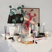 Decorative set cosmetics