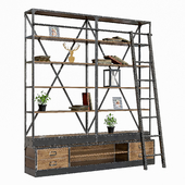 Rack loft industrial