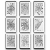 City Maps Europe   set 20