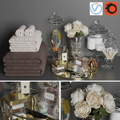 Decorative bathroom set 3