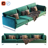 Saba Livingston Three Seater Sofa