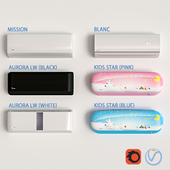 Midea air conditioners linear series