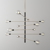 Mitzi Astrid Chandelier. 12 lights