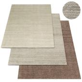 Textura Stripe Wool Rug RH Collection
