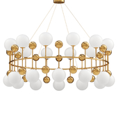 Chandelier Milk Bubble Ring Chandelier d.116