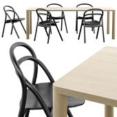Hem Udon Chair and Log Tables