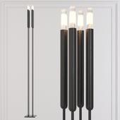 Restoration Hardware QUENOUILLES FLOOR LAMP Black