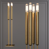Restoration Hardware QUENOUILLES TABLE LAMP Brass