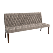 Vittoria Frigerio.Damas bench medium.Damas bench high.