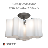 Ceiling chandelier Simple Light 802030