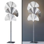 Floor Lamp Floor Lamp Las Palmas Silver