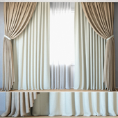 Curtains 93 | Curtains with Tulle | ROHI & Creation Baumann | Topia & ALEX