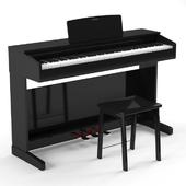 Digital piano YAMAHA YDP-143 WH & B