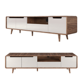 TV Stand Hampton Gray