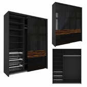 Wardrobe with system PS10 Cinetto (9)