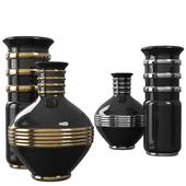Ceramic vase ROCHE BOBOIS ANNEAUX