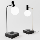 Spencer Lamp with Wi-fi Charger