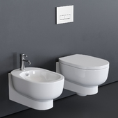 GALASSIA M2 55 Wall-Hung WC art. 5245 art. 5246