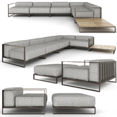 Talenti Casilda sofa, armchair and table