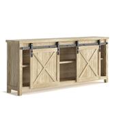Cabinet-room in the living room Smart Standard Loft Sliding Barn Door with barn doors