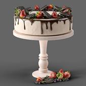 Торт с клубникой и Oreo
