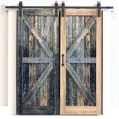 Upper (sliding) doors 1