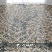 Linear Beige Marble Tiles in 2 types