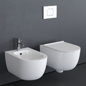 Alice Ceramica Unica Wall-Hung WC