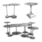 Bernhardt Randolph End Table Circlet Cocktail Table 3d model model
