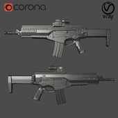 Итальянская штурмовая винтовка Beretta ARX-160, увеличитель EOTech G33, коллиматорный прицел EOTech