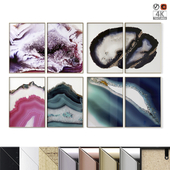 """Posters Set """"Agate"""""""