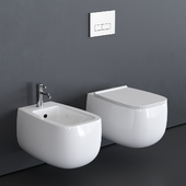 Alice Ceramica Nur Wall-Hung WC