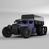 Truck steampunk