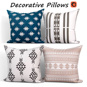 Decorative pillows set 306 Boho