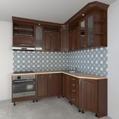 Corner kitchen