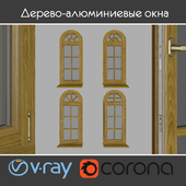 Wood - aluminum windows, view 05 part 02 set 01