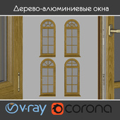 Wood - aluminum windows, view 05 part 02 set 02