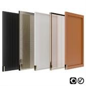 Cabinet doors set 01