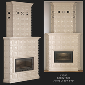 Tiled fireplace 03